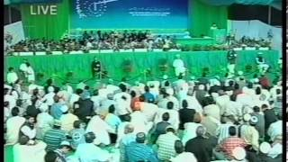 Report about Progress of Islam Ahmadiyyat in India at Jalsa Salana UK 2002