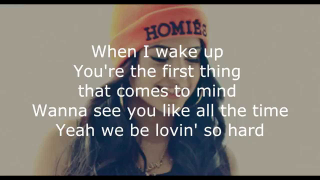 Becky G Lovin So Hard Lyrics Hd Youtube