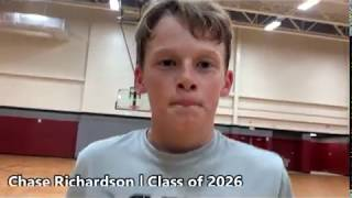 Chase Richardson Class of 2026 - Team Ambition Training