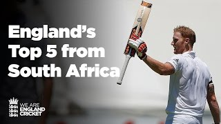England's Top 5 Moments from the South Africa tour