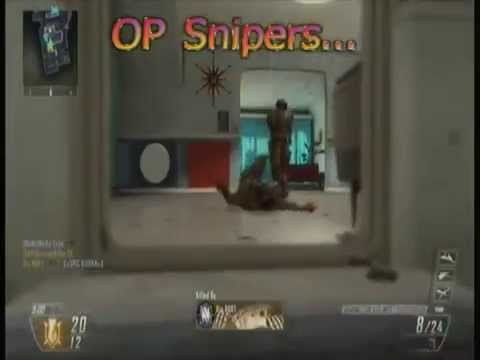 Some Classic Call of Duty: Black Ops 2 BS! (Mini Montage)