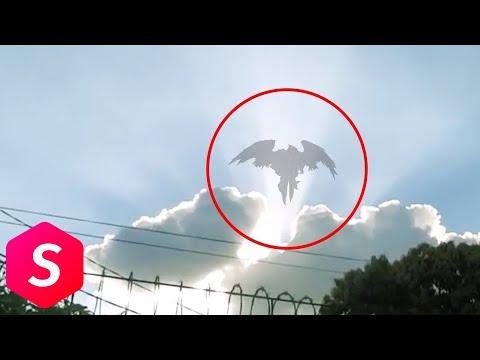 Begini Penampakan Malaikat Yang Tertangkap Kamera, Yang Terakhir Bikin...
