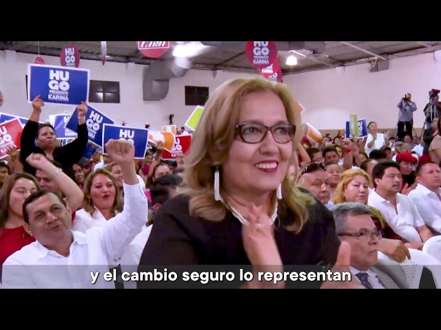Programa de Gobierno del FMLN 2019 con Hugo Martínez
