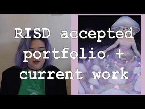RISD accepted portfolio + current work