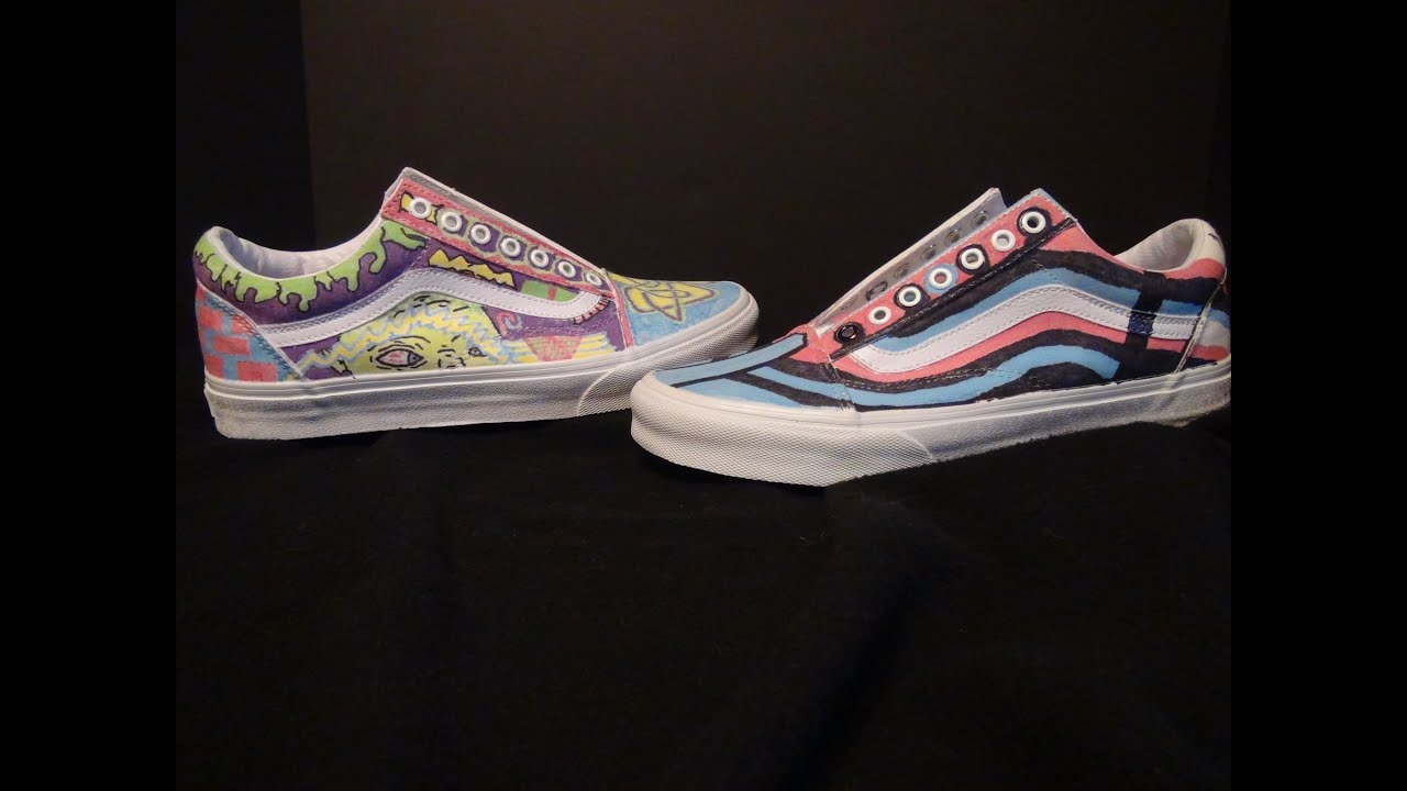 custom old skool vans
