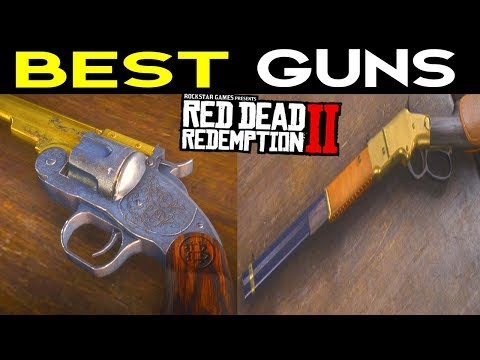 Red Dead Redemption 2: Best Guns Best Weapons - How to get the Best Guns RDR2