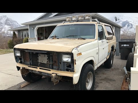 """Tanker""  ford bronco rebuild part"