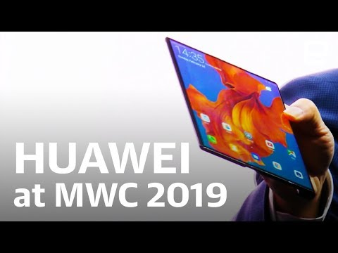 Huawei's foldable Mate X event at MWC 2019 in 12 minutes