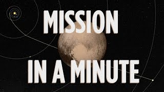 The Mission To Pluto In 1 Minute