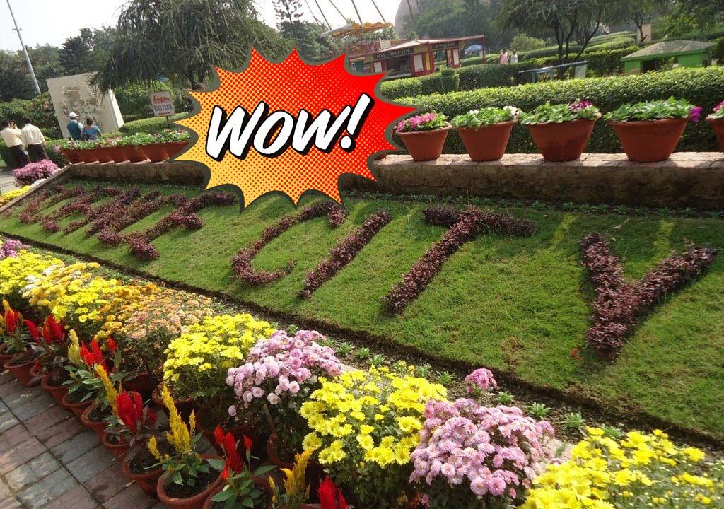 Most Beautiful Garden In Kolkata Science City India Youtube