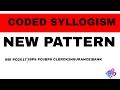 Coded syllogism SBIPO IBPS PO RRBPO CLERK 2017