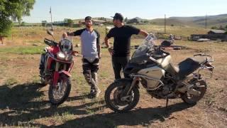 Big Adventure Motorcycles Comparison Test from Colorado