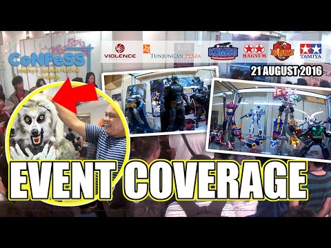 Confess 2016 Surabaya - Hobby Convention Event Coverage