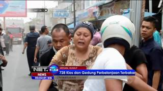 Gambar cover 30 Mobil Damkar Belum Bisa Padamkan Api Gedung Ramayana Medan -NET24 12 Juli