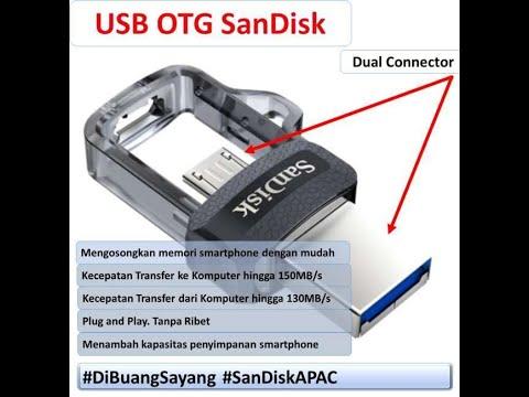 Review USB OTG SanDisk  Solusi Memori Ponsel, Canggih dan Tidak Ribet