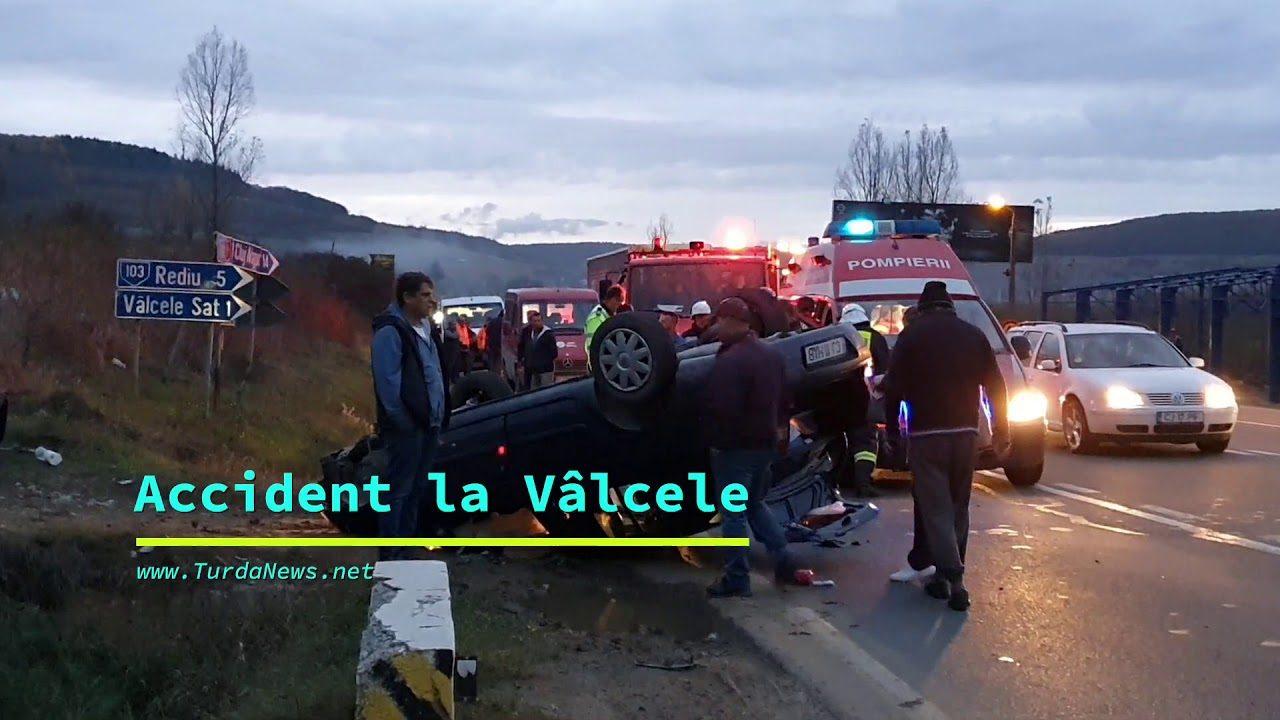 Accident la Vâlcele (06.11.2019)