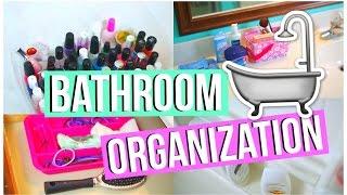 Diy Room Organization & Storage: Bathroom Edition!