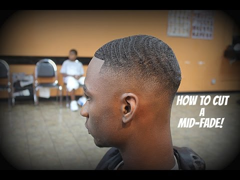 Barber Tutorial: How To Cut 360 Waves With a Mid Fade HD* By: Allan Upshaw