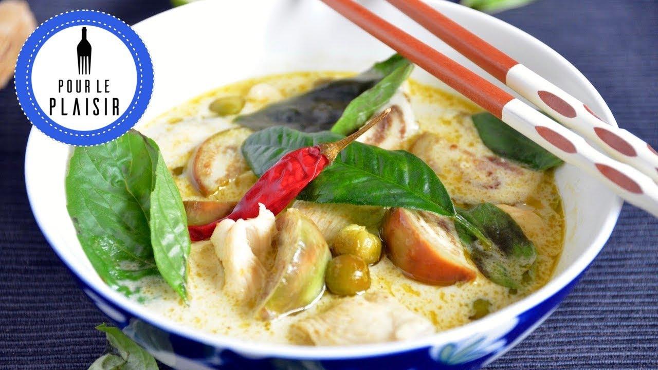 Grünes Thai Curry mit Hähnchen - so macht man es in Thailand!