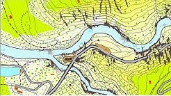 Goldwaschen Schweiz Gold-Karte