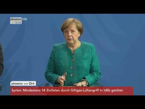 Besuch aus dem Libanon: Angela Merkel und Saad Rafik Hariri am 04.04.2017