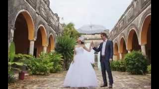 Свадебная фотосессия в самом красивом месте в мире! Любай позавидует!