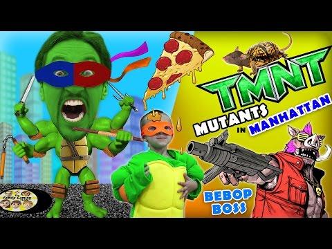 michelangelo-plays-tmnt-mutants-in-manhattan!-(fgteev-teenage-mutant-ninja-turtles-bebop-boss-fight)