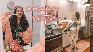 WINTER Morning Routine 2019 | Antonnette
