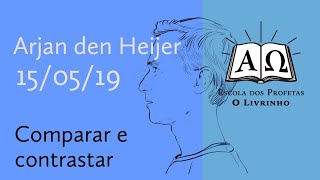 01. Comparar e contrastar   Arjan den Heijer (15/05/19)