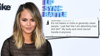 Chrissy Teigen Turns Her Twitter Private After Social Media Abuse