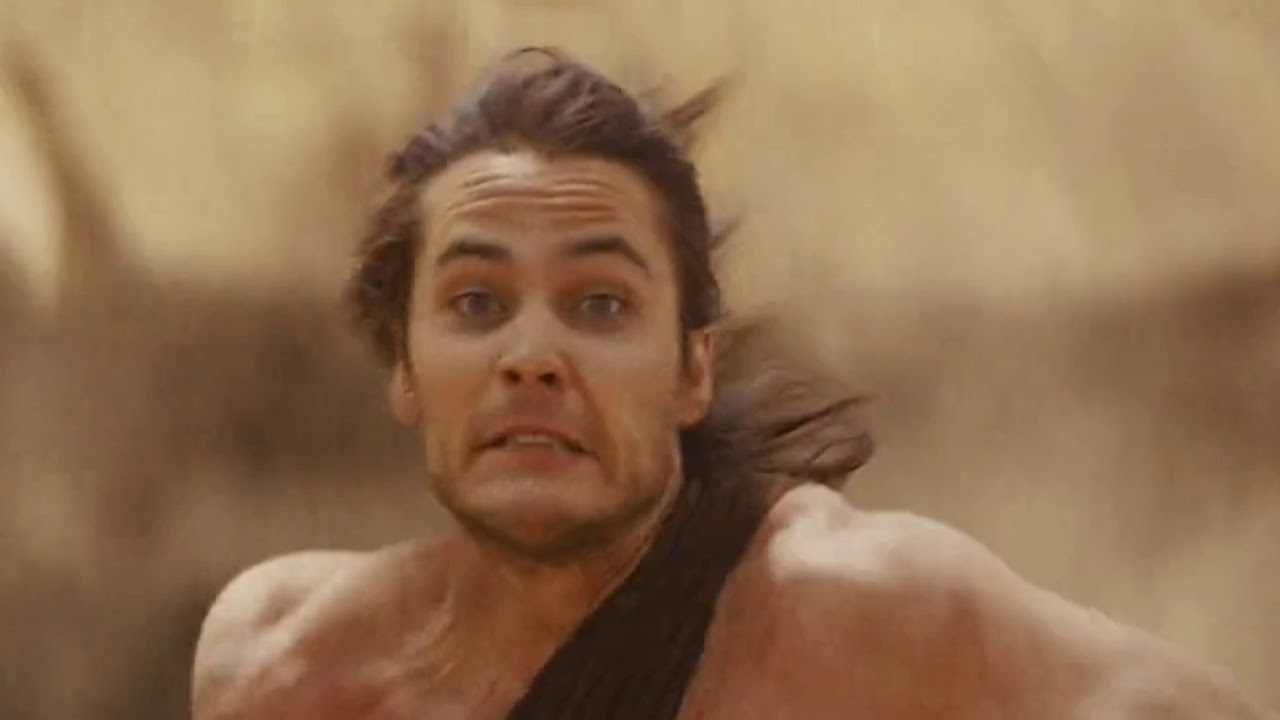 Download John Carter (2012) john fights in the arena   white apes fighting scene