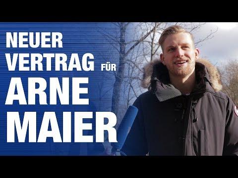 Arne Maier verlängert bei Hertha BSC