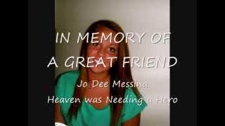 In Memory of Becca Berkley - Heaven Was Needing a Hero