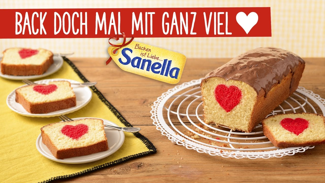 Ruhrkuchen Mit Herz Patch Cake Rezept Sanella