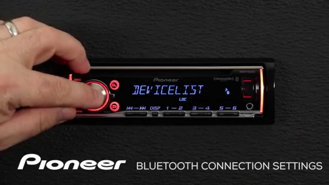 how to deh x6700bt bluetooth connections settings youtube pioneer radio wiring colors how to deh x6700bt bluetooth connections settings