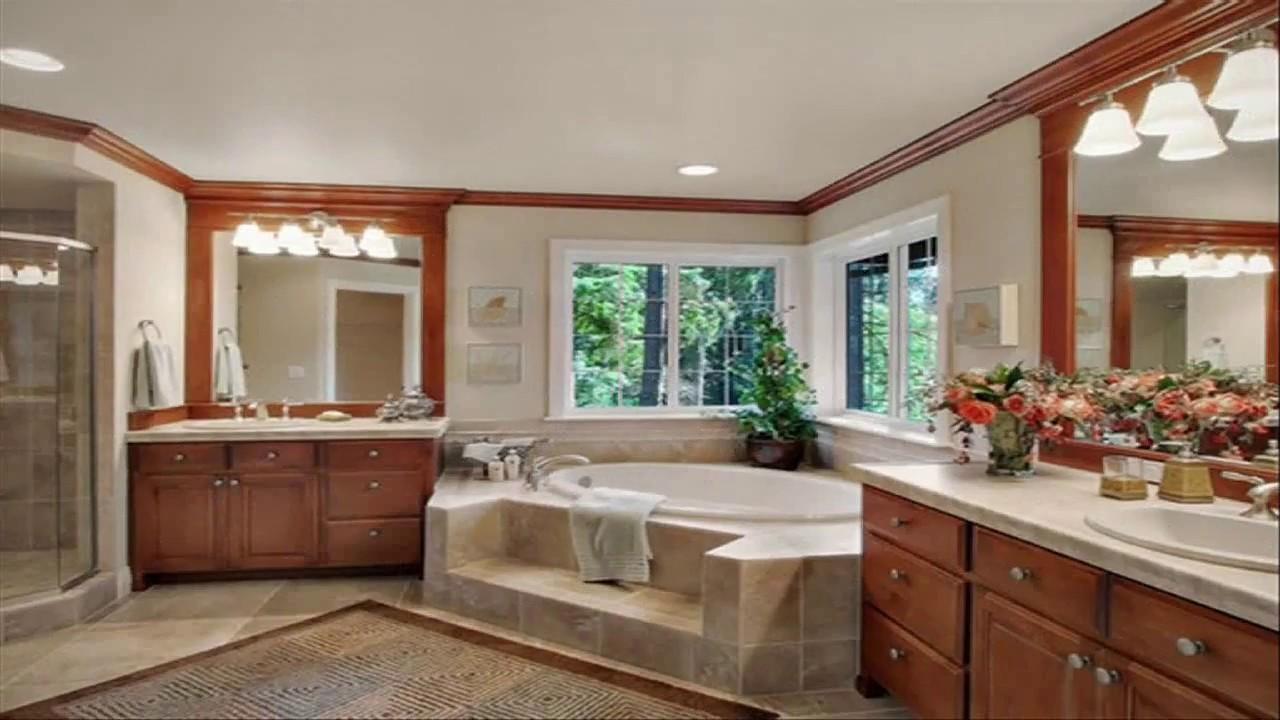 Corner Jacuzzi Tub Bathroom Designs - YouTube