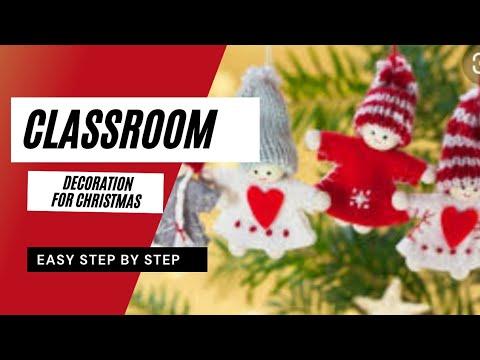Christmas Display Ideas For Nursery.29 Stunning Classroom Decorations For Christmas Ideas Youtube