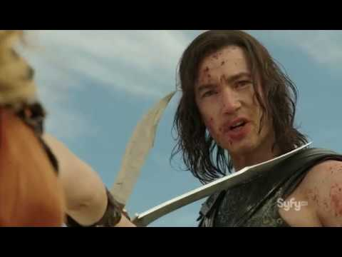 Download Dominion   Michael slaughters humans   Gabriel and Uriel show up to stop him