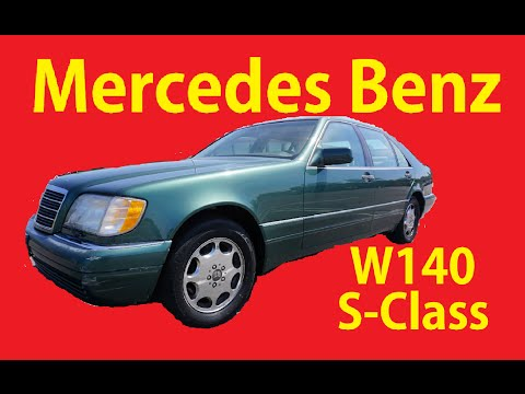 W140 Test Drive Video S-Cass Mercedes S420 Luxury Car For Sale
