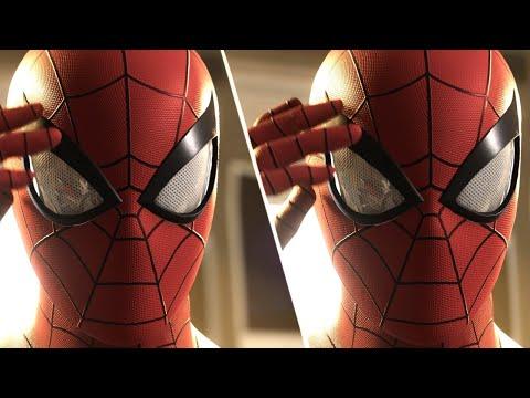 Spider-Man PS4 Graphics Comparison: PS4 Pro vs. PS4