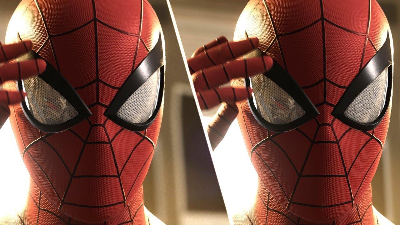 Spider-Man PS4 Graphics Comparison: PS4 Pro vs  PS4