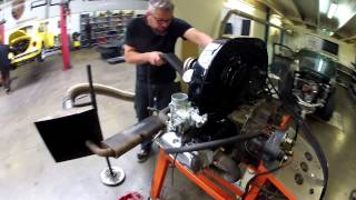 """Celi"" Formule Vee VW Engine, First Run"