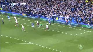 Video Gol Pertandingan Everton vs Aston Villa