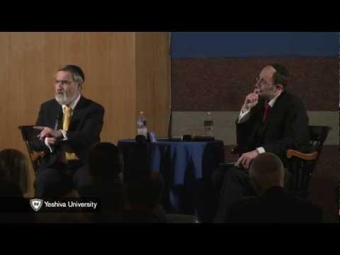 Chief Rabbi Lord Jonathan Sacks Speaks at Yeshiva University