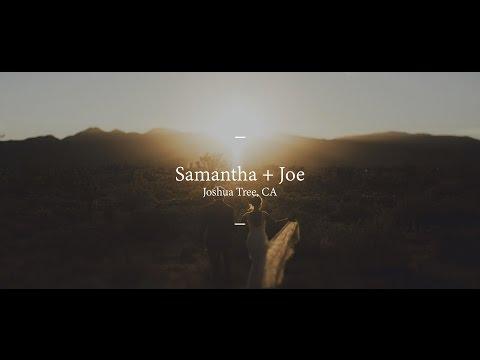 Wedding Film // Joshua Tree, CA // Samantha + Joe