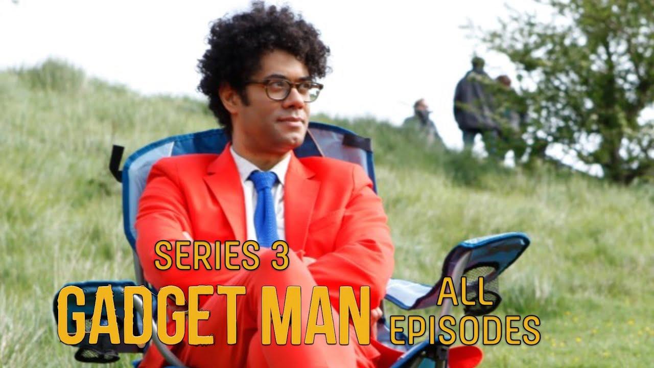 Download Richard Ayoade's Gadget Man MARATHON: ALL EPISODES - Series 3