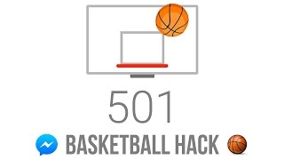 How To Hack / Cheat Facebook Messenger Basketball Game !