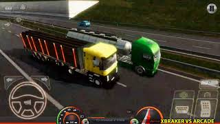 Truck Simulator : Europe 2 Logs Transport Android Gameplay #17