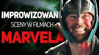 5 improwizowanych scen w filmach MARVELA!
