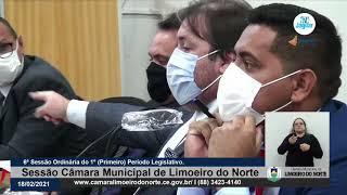 Sargento Arimatéia    Câmara de Limoeiro do Norte 18 02 21